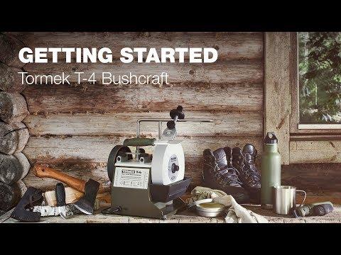 Tormek T-4 Bushcraft: Getting Started