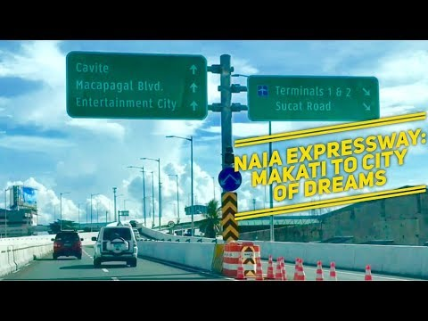 Manila Joy Ride NAIA Expressway: Makati to City of Dreams Driving Tour by HourPhilippines.com