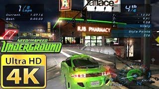 Old Games in 4k : Need for Speed Underground
