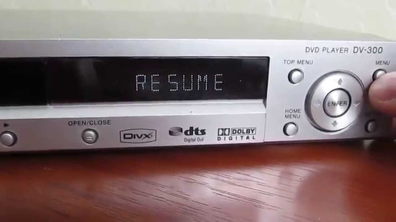DVDплеер Pioneer DV300S  YouTube