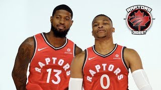 The truth behind paul george and westbrook potential trade to raptors -