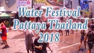 Water Festival Pattaya Thailand 2018
