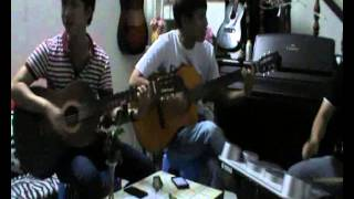 nỗi nhớ đầy vơi guitar trống
