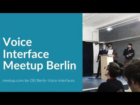 Voice Interface Meetup Berlin Leo Füchsel - Enhancing a WebApp with a VUI