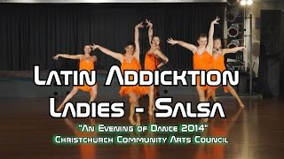 Latin Addiction Ladies - Salsa, An Evening of dance 2014 - 720p