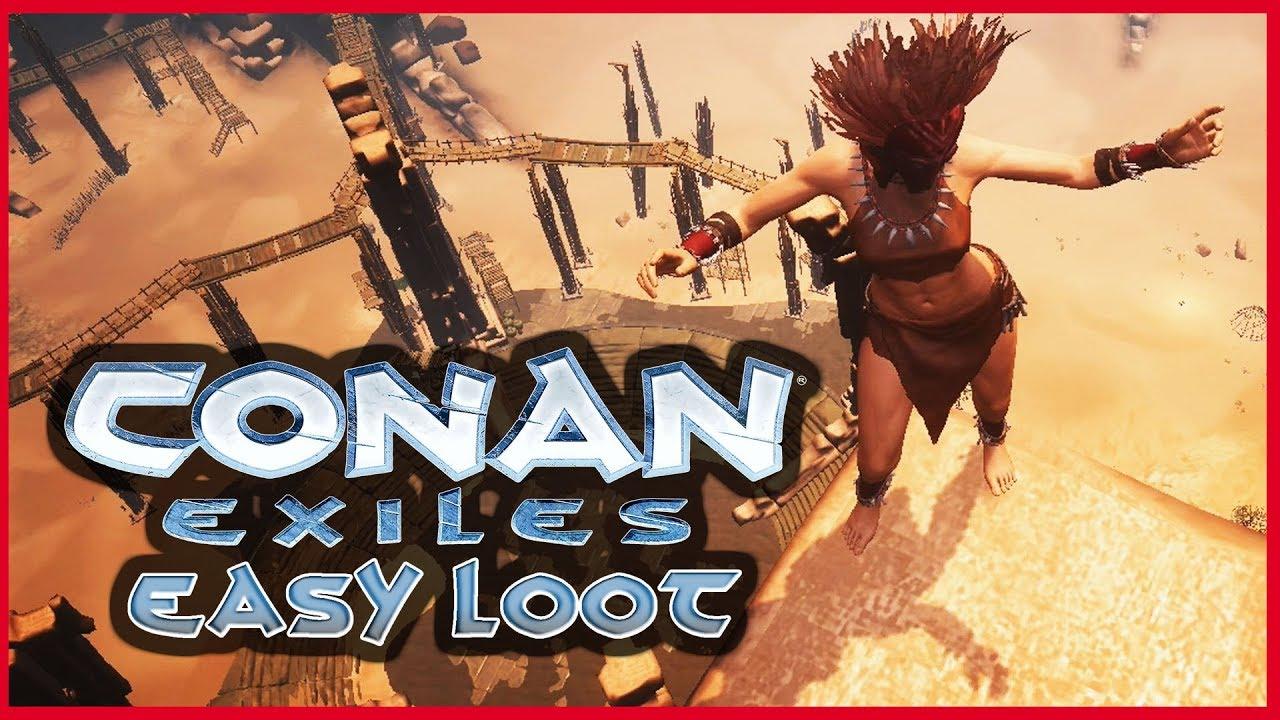 Conan Exiles The Den Location
