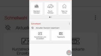 SBB Mobile App Vorstellung