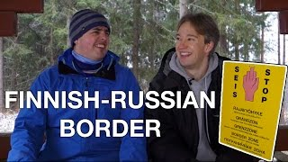 The Finnish-Russian Border, and a Conveniently Placed Hut thumbnail