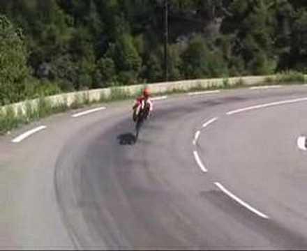 Hamé Nordkapp - Gibraltar non - stop recumbent ride