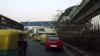 Driving in Delhi (Kashmere Gate to Shahdara) - India