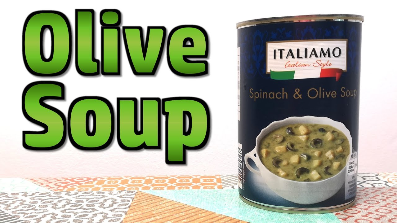 Spinach And Olive Soup - Weird Stuff In A Can #146