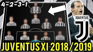 Juventus Possible Line Up XI 2018/2019 Ft Ronaldo, Emre Can, Dybala