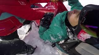 Как я сломал бедро катаясь на сноуборде.