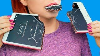 10 Amazing DIY Edible Winter Phone Cases / Edible Pranks!