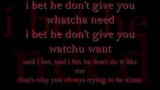 I bet- Mario Vasquez lyrics