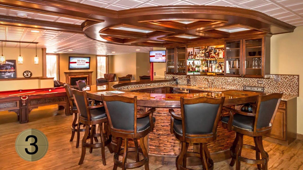5 FAVS - Five Awesome Basement Bars We Love!