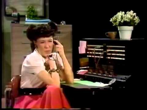 Ernestine the telephone operator calls General Motors