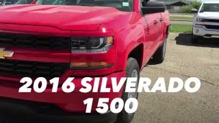 2016 Chevrolet Silverado 1500 | Double/Extended Cab Regular Box RED | Stock 16n119