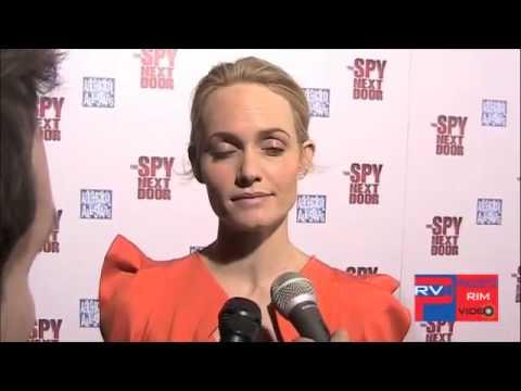 Amber Valleta at The Spy Next Door Premiere