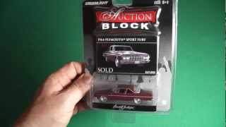 GREENLiGHT 1964 Plymouth Fury Sport Red