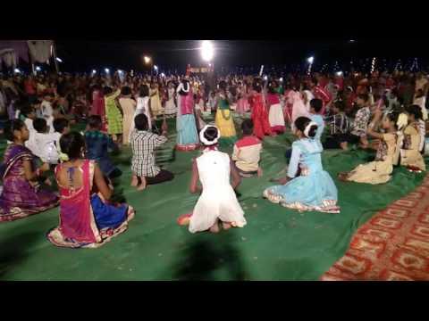 Dandiya show on dashahra at obra sonebhadra 9 Oct 16