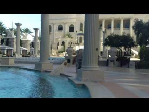 Caesars Pool and Cabanas - Best Vegas Pools