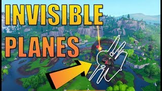 Fortnite INVISIBLE Plane Glitch Tutorial! | FORTNITE Season 7 Glitches