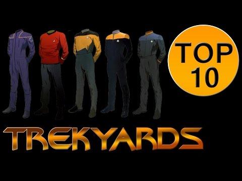 Trekyards Top 10  Federation Uniforms