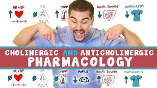 Choliergic (PNS) vs Anticholinergic (SNS) *Part 3*