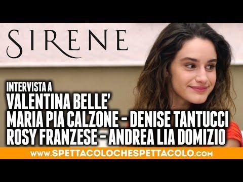 SIRENE  Valentina Bellè, Maria Pia Calzone, Denise Tantucci,  Rosy Franzese, Andrea Lia Domizio