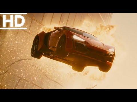 Hızlı Ve Öfkeli 7 | 3 Binadan Atlama Sahnesi | (1080p)