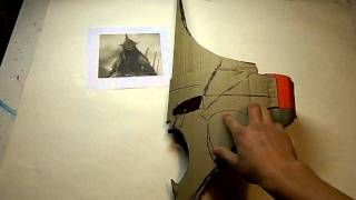 Repeat youtube video Witch king costume, making the helmet part 1