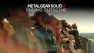 Metal Gear Solid 5: The Phantom Pain - Ending CUTSCENE (Final Boss/Mission/Episode)