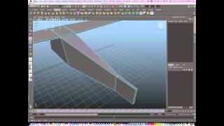 0002 Maya Modeling a basic Air plane