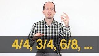 Qué es 4/4, 3/4, 6/8,...  Patrón Ritmo