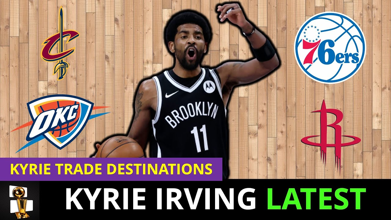 Kyrie Irving Latest: Kyrie DONE In Brooklyn? NBA Trade Possibilities ft. Ben Simmons & Collin Sexton
