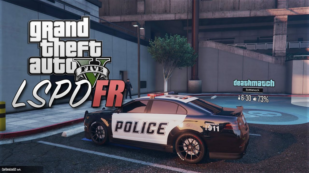 GTA 5 PC LSPDFR Online Alpha Preview - YouTube