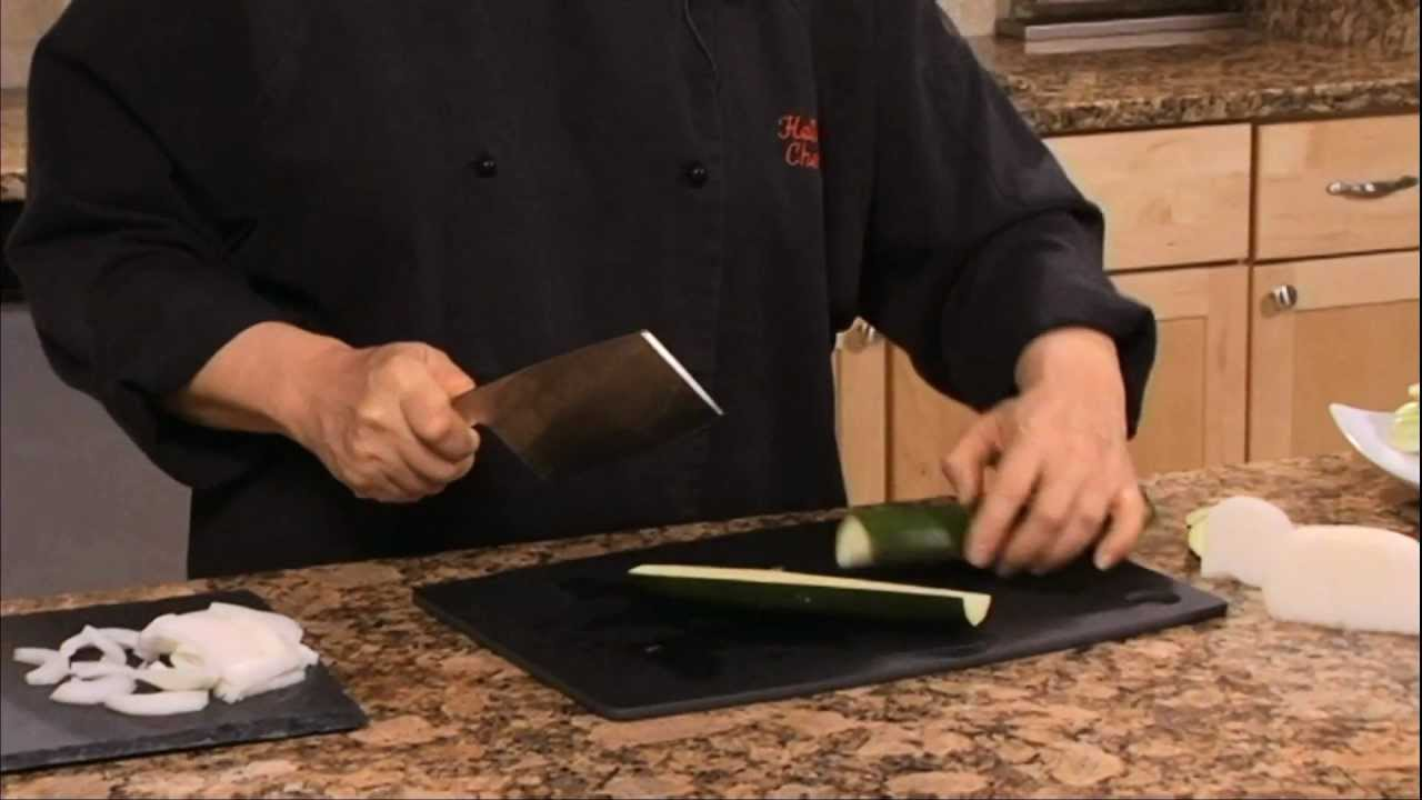 helen chen episode 1 chinese chef 39 s knife demo helen 39 s asian kitchen with. Black Bedroom Furniture Sets. Home Design Ideas