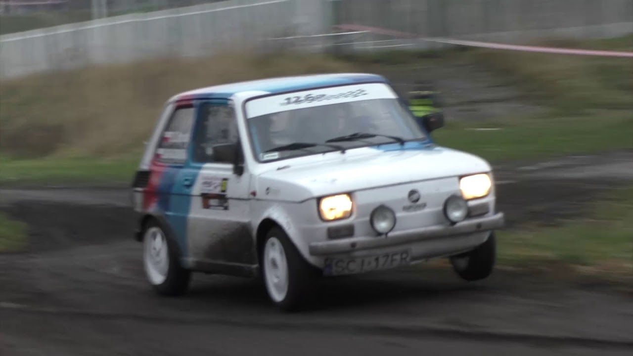 Opioła / Grabowska – Fiat 126p | Szombierki Rally Cup 2017 – 4 runda