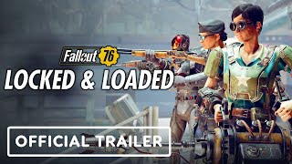 Fallout 76: Locked & Loaded - Official Launch Trailer (Armor Ace in Cold Steel)