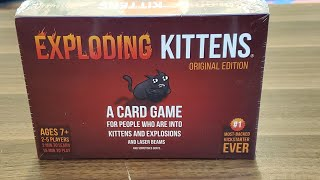 Taking a look at the Exploding Kittens Card Game