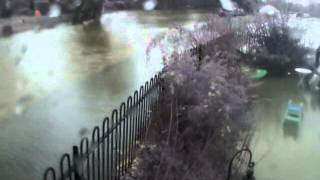 Timelapse Of The Thames Flooding In Abingdon 2012
