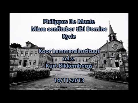 Philippus De Monte - Kyrie - Koor Lemmensinstituut