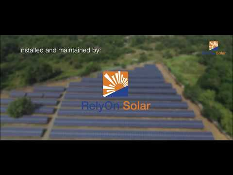 Aerial film for Rely on solar.