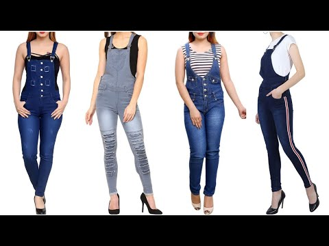 Denim Dungarees Outfit Ideas 2020 || Stylish Trendy Dungarees/Overall For Girls