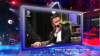 Alişan ve Serhat Kılıç Arasında Gergin Anlar - Beyaz Show 5 Aralık 2014