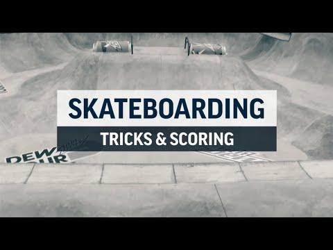 Skateboarding Tricks and Scoring