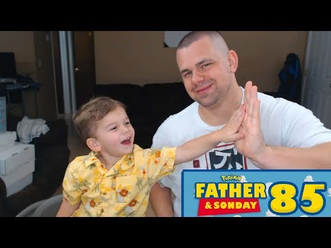 Father and Sonday! | Opening Pokemon Cards with Lukas #85