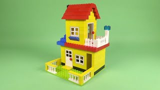 """Download LEGO House 005 Building Instructions - Make & Create 3600 """"How To"""""""