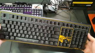 Trên tay bàn phím cơ Ducky phiên bản Year Of The Monkey 2016 - Cherry Blue Switch